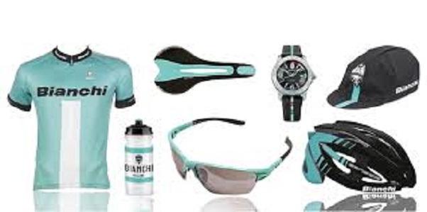 Bianchi tøj og udstyr