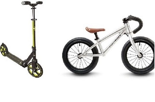 Løbehjul og balancecykler