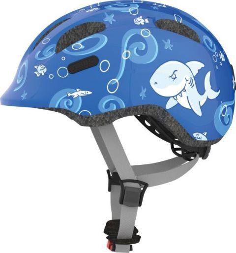 Abus cykelhjelm Smiley 2.0 Blue Sharky