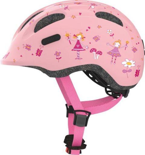Abus cykelhjelm Smiley 2.0 Rose Princess