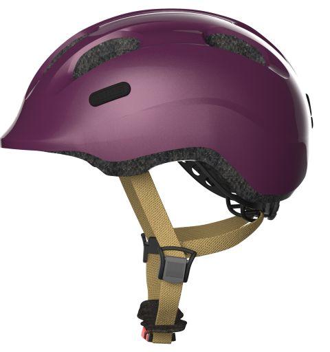 Abus cykelhjelm Smiley 2.0 Royal Purple