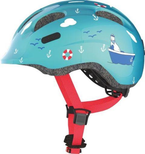 Abus cykelhjelm Smiley 2.0 Turquoise Sailon