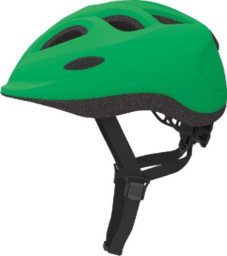 Abus cykelhjelm Smiley Grøn Str. 50-55 cm