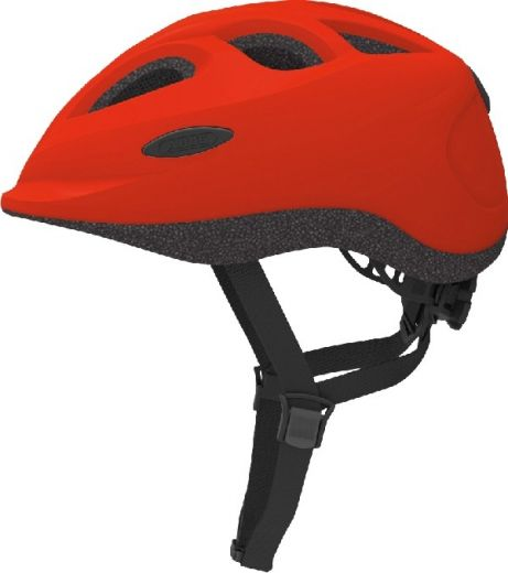 Abus cykelhjelm Smiley Rød  50 - 55 cm