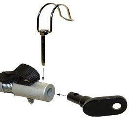 Aksel beslag og låsepind