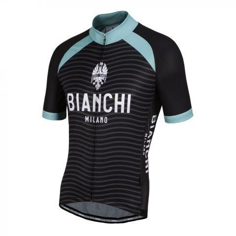 Bianchi Jersey Meja - Sort celeste