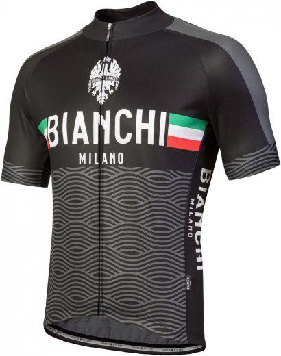 Bianchi Jersey Attone - Sort