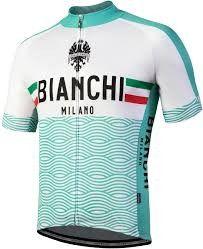 Bianchi Jersey Attone celeste