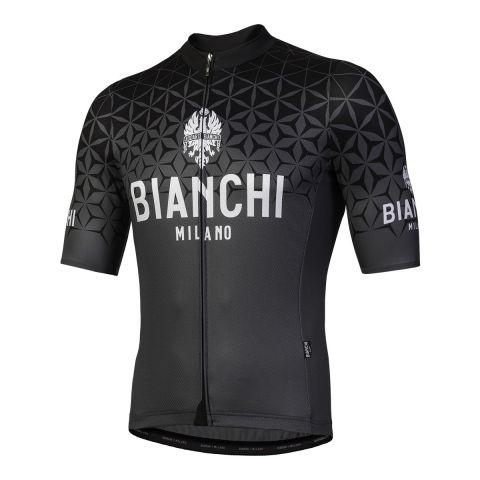 Bianchi Jersey Conca - Sort