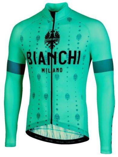 Bianchi Lang Jersey Perticara - Celeste