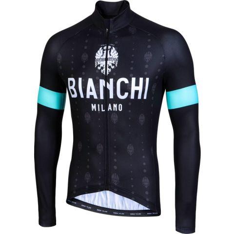 Bianchi Lang Jersey Perticara - Sort