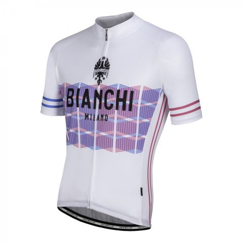 Bianchi Jersey Suviana - Hvid Cykeltrøje