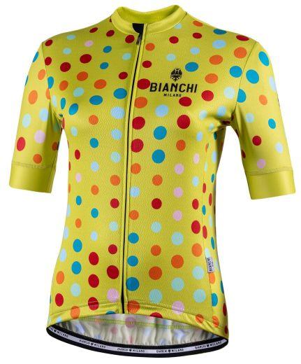Bianchi Lady jersey Silis - Lime