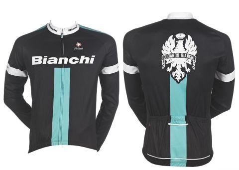 Bianchi Lang Jersey - Winter Long Sleeve Jersey
