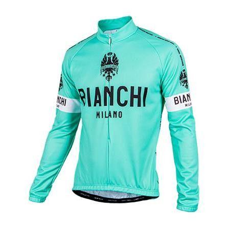 Bianchi langærmet Jersey Leggenda - Celeste