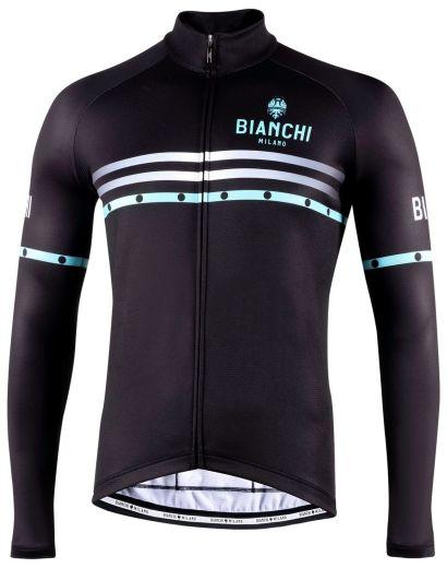 Bianchi langærmet Jersey - Piantedo - Black