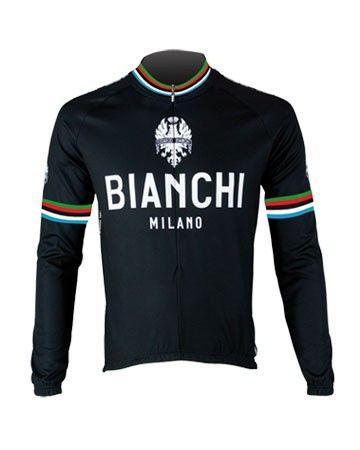 Bianchi langærmet Jersey - Leggenda - Black