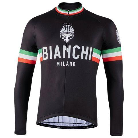 Bianchi langærmet Jersey - Storia - Black