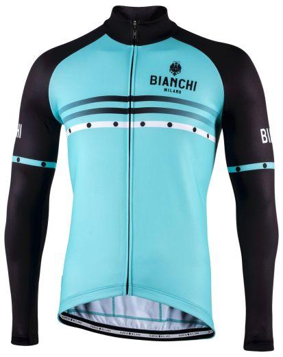 Bianchi langærmet Jersey - Piantedo - Celeste