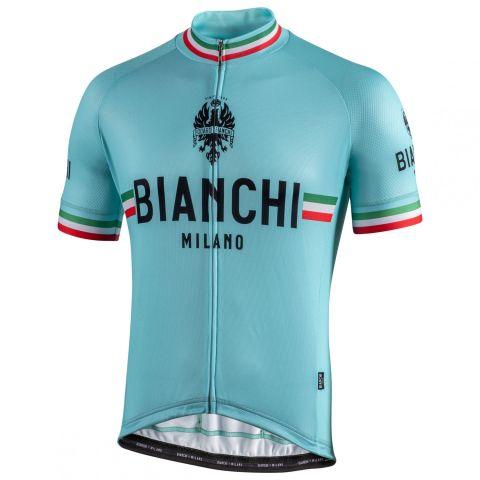 Bianchi Milano Isalle jersey - Celeste