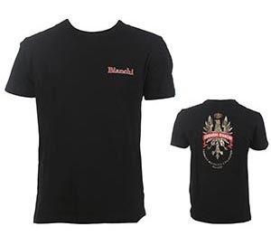 Bianchi T-shirt sort