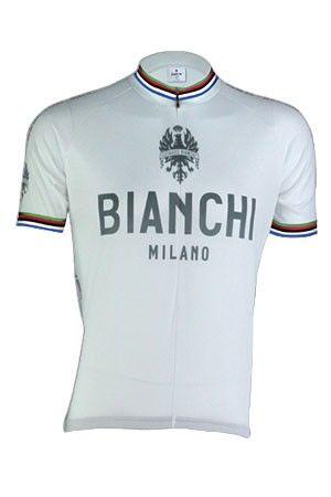 Bianchi Jersey Pride hvid