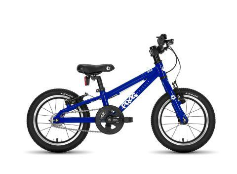 Frog hybrid 40,  14 hjul , blå - børnecykel