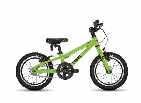 Frog hybrid 40,  14 hjul , grøn - børnecykel