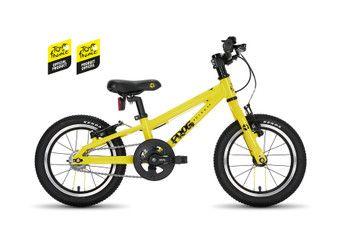 Frog hybrid 40,  14 hjul , gul - sportscykel