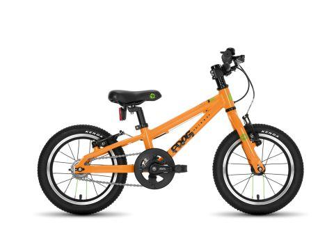 Frog hybrid 40,  14 hjul , orange - let sportscykel