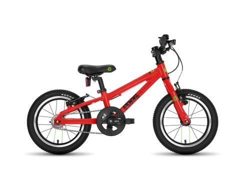 Frog hybrid 40,  14 hjul , rød - børnecykel