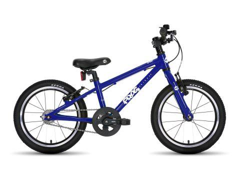 Frog hybrid 44,  16 hjul , blå - let sportscykel