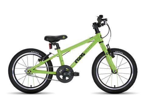 Frog hybrid 44,  16 hjul , grøn - børnecykel