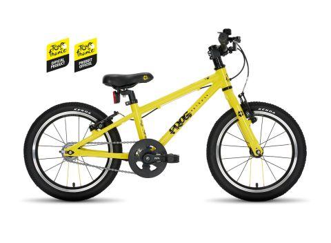 Frog hybrid 44,  16 hjul , Gul TDF - børnecykel