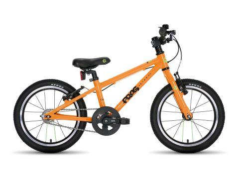 Frog hybrid 44,  16 hjul , orange - børnecykel