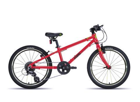 Frog hybrid 53,  20 hjul , rød - let sportscykel