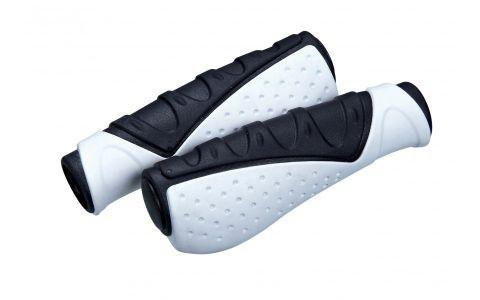 Hvide håndtag Ergonomiske  2 x 130 mm
