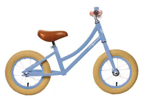 Løbecykel Rebel Kidz Air Classic - Lys-Blå
