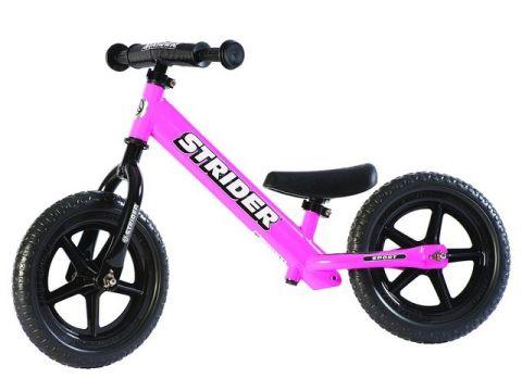 Løbecykel Strider Sport - Sort el. Pink