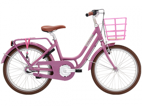 """Norden Clara  pigecykel 20""""  Lavendel"""