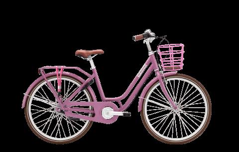 """Norden Clara  pigecykel 26"""" - Lavendel"""