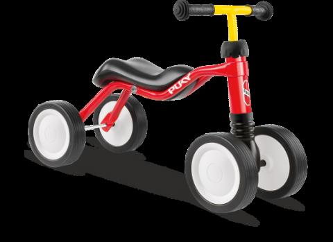 Puky Wutsch Løbecykel - Skubbecykel - Rød