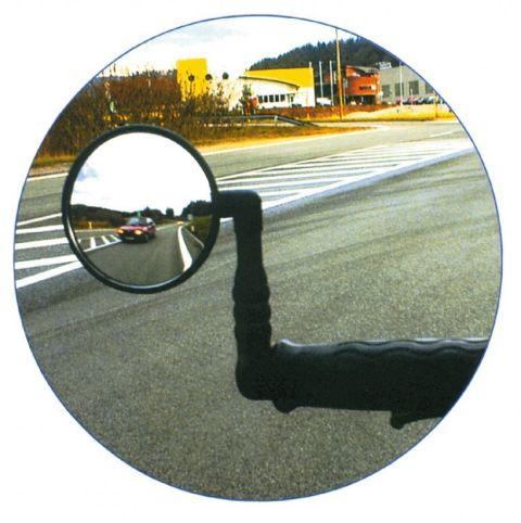 Sidespejl med Kromatisk glas