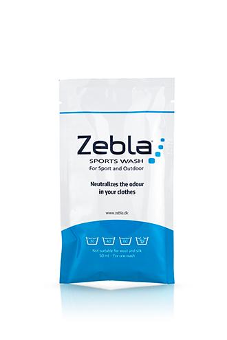 Zebla Sportsvask 50 ml. Rejsepakke