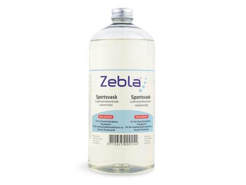 Zebla Sportsvask Uden parfume 1000 ml.