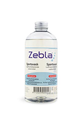 Zebla Sportsvask Uden parfume 500 ml.